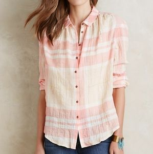 Anthro Holding Horses Button Down Shirt